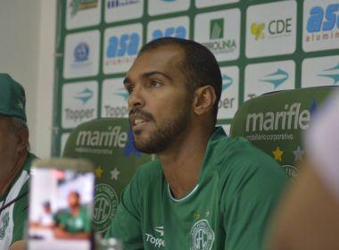 Richarlyson diz que estará pronto para estrear pelo Guarani em 15 dias
