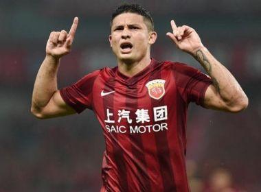 Elkeson volta a marcar pelo Shanghai na Liga dos Campeões da Ásia