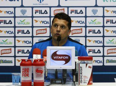 Claudinei critica árbitro: 'Não achei má índole dele, mas interferiu no resultado'