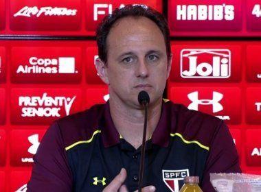 'Tomamos um gol que chega a ser medonho', diz Rogério Ceni em derrota do São Paulo