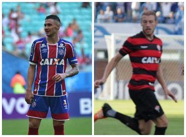 Jogadores de Bahia e Vitória protestam contra reforma trabalhista da categoria