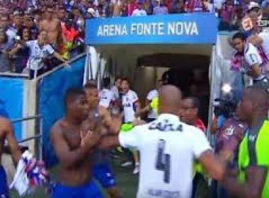 Bahia e Vitória são punidos pelo STJD após confusão em clássico na Arena
