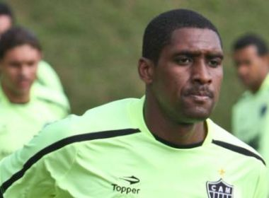 Flu de Feira espera detalhes para oficializar atacante Jônatas Obina, ex-Atlético-MG