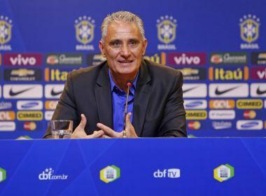 Tite anuncia convocação para amistosos contra Argentina e Austrália