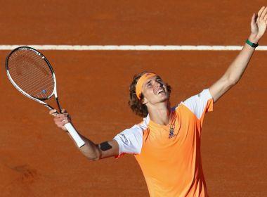 Alemão de apenas 20 anos derrota Djokovic na final do Masters 1000 de Roma