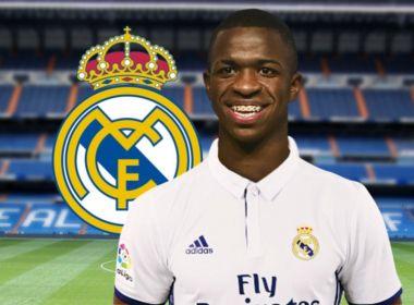 Real Madrid concretiza compra de Vinicius Junior; atacante se apresenta em 2019