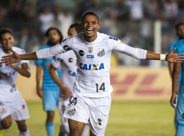David Braz faz dois gols em goleada santista: 'A gente procura ficar bem posicionado'