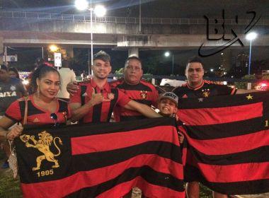 Torcedores do Sport chegam com confiança na Arena Fonte Nova