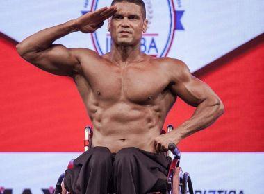 PM cadeirante conquista o tricampeonato estadual de fisiculturismo