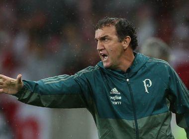 'Time titular piorou, mas a cobrança aumentou', diz Cuca sobre o Palmeiras deste ano
