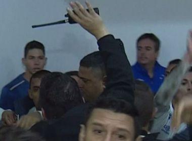 Empate sem gols classifica o Cruzeiro na Arena Condá e termina em confusão