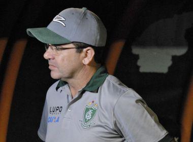 Após derrota do América-MG, Enderson Moreira pede 'tranquilidade' à equipe