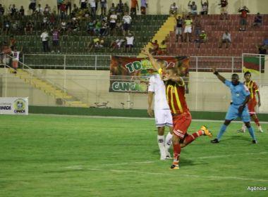Série D: Juazeirense vence Central-PE facilmente, lidera grupo e goleiro Tigre celebra
