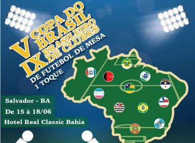 Salvador sediará competições nacionais de Futebol de Mesa neste feriadão