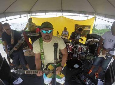 Banda Papel de Seda grava hino do Flu de Feira em versão de reggae; confira