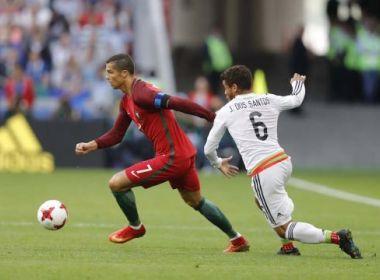 Cristiano Ronaldo minimiza empate de Portugal diante do México: 'Estamos tranquilos'