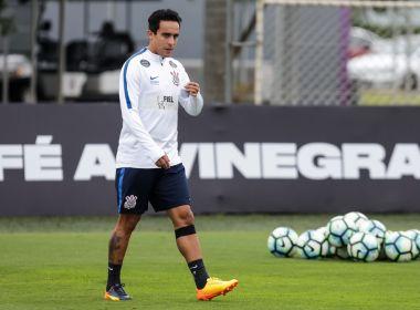 Jadson deve reforçar o Corinthians no próximo compromisso contra o Bahia