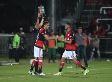 Juan e Everton estão suspensos e Réver é dúvida para a visita do Flamengo ao Bahia