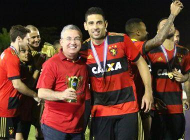 'Amanhã é um novo dia', despista Diego Souza deixando futuro em aberto no Sport