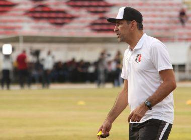 Chapecoense anuncia a contratação do técnico Vinícius Eutrópio