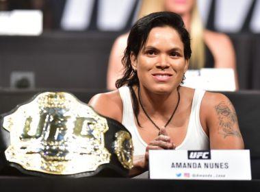 Amanda Nunes é hospitalizada e não poderá defender cinturão do UFC neste sábado