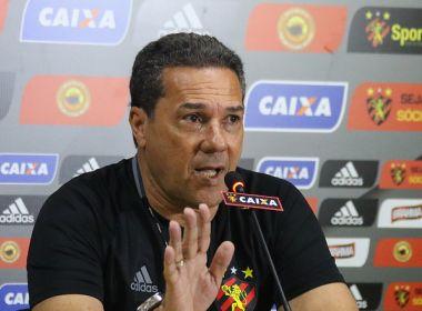 'Está tudo no caminho certo', diz Luxemburgo após derrota do Sport para o Botafogo