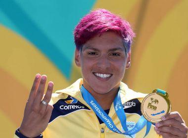 Ana Marcela é tricampeã mundial na maratona dos 25 km; Allan do Carmo é o 13º