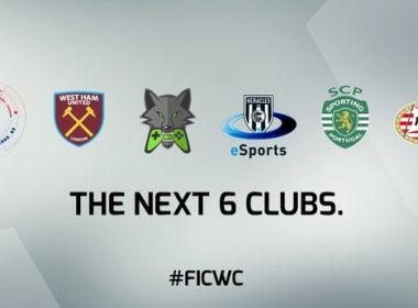 Fifa anuncia mais seis clubes que participarão do Mundial do game oficial da entidade