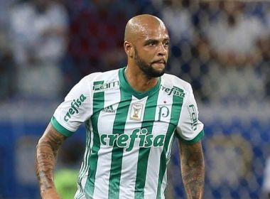 Após eliminação do Palmeiras, Felipe Melo dispara contra árbitro: 'Juiz caseiro!'