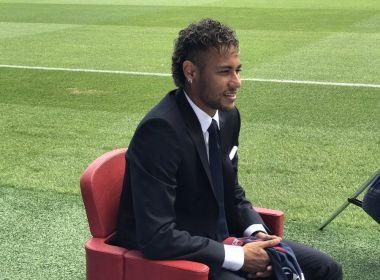Apresentado no PSG, Neymar diz não ter saído do Barcelona em busca de protagonismo