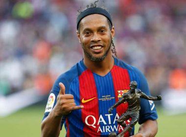 Ronaldinho estabelece exigência para voltar a jogar: 'Sem precisar treinar'