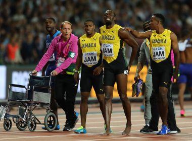 'Foi cãibra', revela médico após Bolt não conseguir completar sua última prova
