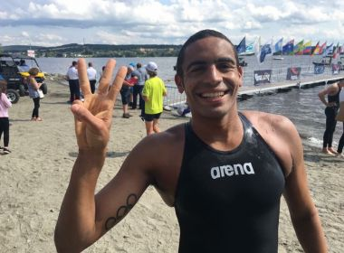 Allan do Carmo fica em 3° em etapa da Copa do Mundo de Maratonas Aquáticas no Canadá