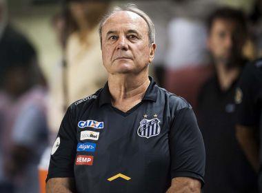 'O pau vai cantar', diz Levir Culpi sobre peso da eliminação santista na Libertadores