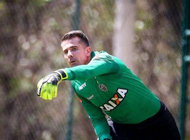 Goleiro Victor, do Atlético-MG, espera um jogo extremamente difícil contra o Vitória