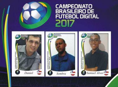 Bahia terá três representantes no Campeonato Brasileiro de Futebol Digital