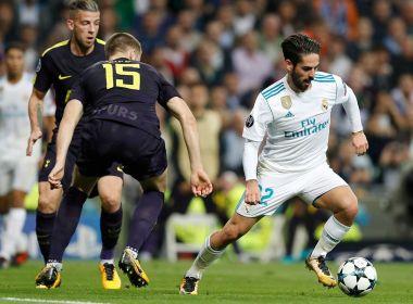 Empate do Real Madrid e triunfo do City são destaques na segunda-feira da Champions