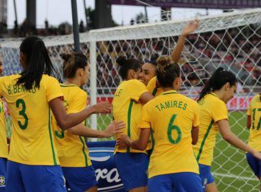 Com gols de Marta, Bruna e Bia, Seleção Brasileira feminina vence o México