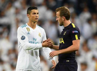 Fã de Cristiano Ronaldo, Harry Kane promete enquadrar a camisa do craque