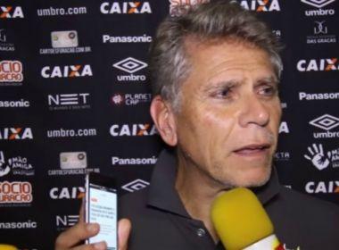 Árbitro relata reclamação de Paulo Autuori durante jogo contra o Vitória