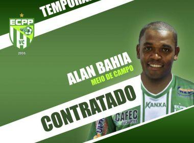 Estreante no futebol baiano, Alan Bahia se diz feliz em jogar no Vitória da Conquista