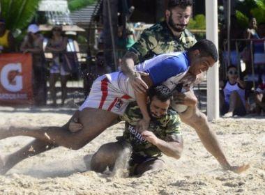 Torneio de Beach Rúgbi acontece neste final de semana em Morro de São Paulo