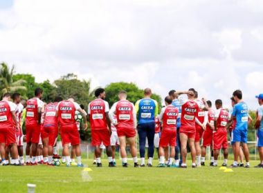Sem Renê Jr. e Lucas Fonseca, Bahia relaciona 23 jogadores para encarar o Sport