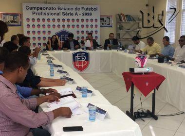 Em arbitral, FBF e clubes definem formato do Baianão 2018