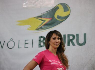 Jogadora assina contrato com Bauru e é a 1ª trans na Superliga feminina de vôlei