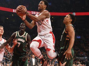 DeMar DeRozan marca 52 pontos e brilha na vitória do Toronto Raptors na NBA