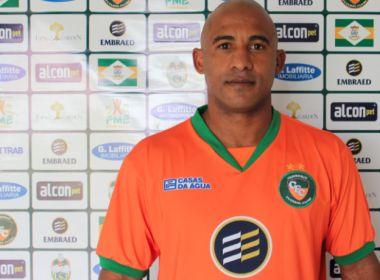 Jacuipense anuncia contratação de Brasão, ex-Flu de Feira e Santa Cruz