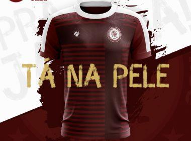 Jacuipense divulga suas novas camisas para a disputa da temporada de 2018