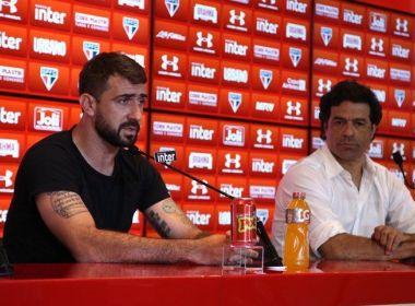 Rumo ao River Plate, Pratto cita distância da filha como motivo para deixar o São Paulo