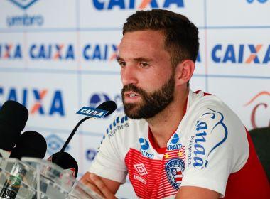Fora dos planos do Palmeiras, ex-Bahia Allione é alvo do Racing, da Argentina